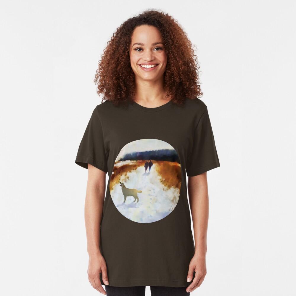 Broadland walk  Slim Fit T-Shirt