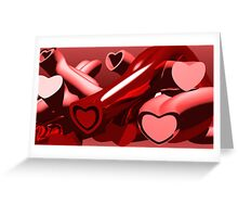 Love Tunnels Greeting Card