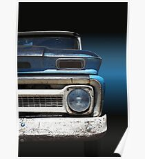 US-Autoklassiker Pickup Chevy C 10 1964 Poster