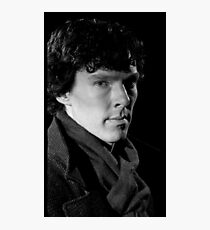 Benedict Cumberbatch Sherlock Photographic Print