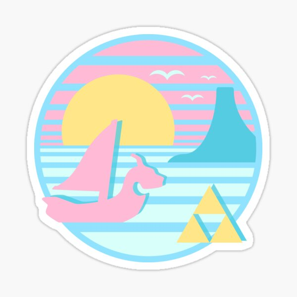 Great Sea Sunset Sticker