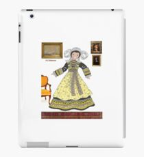 Costume traditionnel MELENIG, Bretagne France iPad Case/Skin