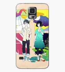 Der Tatami Galaxy - Protagonist und Akashi Hülle & Klebefolie für Samsung Galaxy