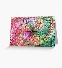Portals Crystal Punch Bowl  (UF0275) Greeting Card