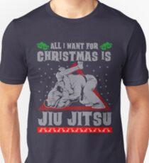 Jiu Jitsu Ugly Christmas Sweater T-Shirt