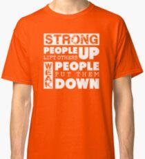 Camiseta clásica Anti-Bullying Levántate a Bullies