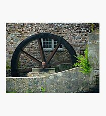 The Old Mill Wheel © Photographic Print