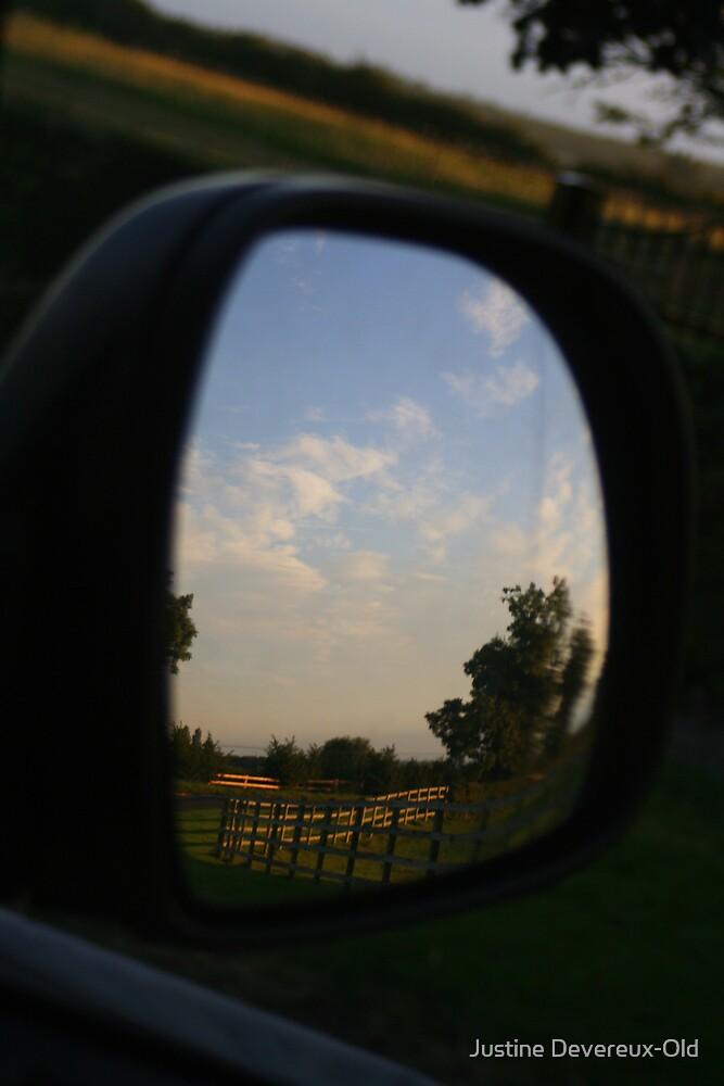 Rear view landscape by Justine Devereux-Old