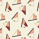 Xmas Trees Pattern #redbubble #decor #xmas by designdn