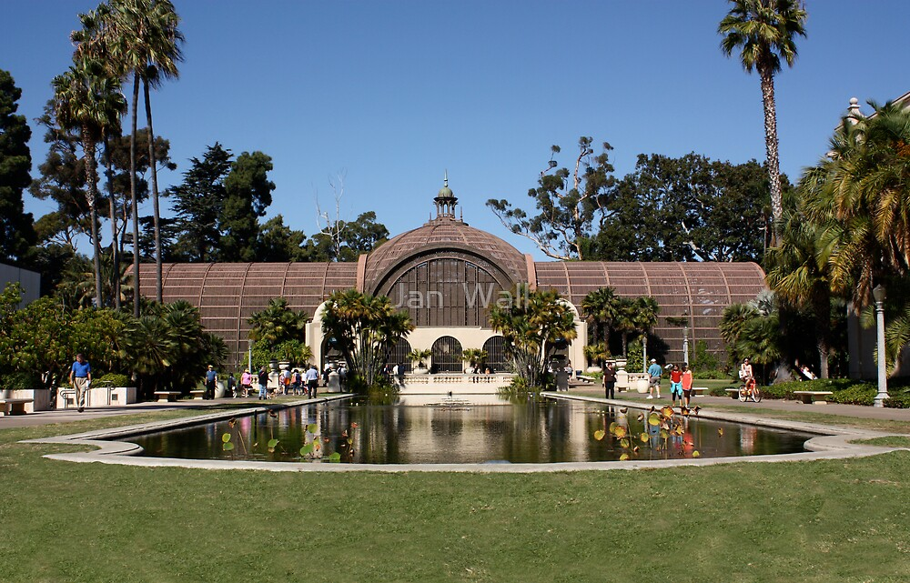 Botanical Gardens by Jan  Wall
