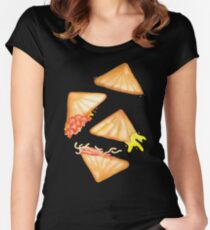 Jaffle Life: Yellow Women's Fitted Scoop T-Shirt
