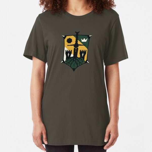 For honor viking knight samurai gaming emblem symbol sword black cotton t-shirt