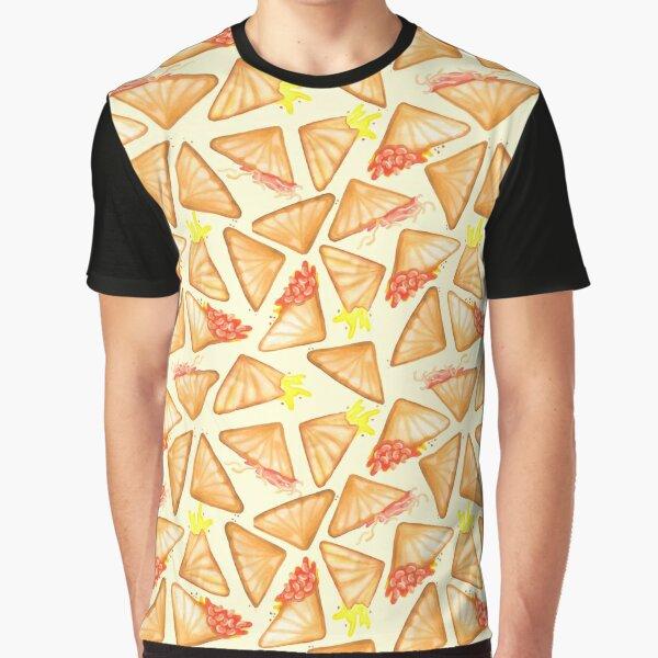 Jaffle Life: Yellow Graphic T-Shirt