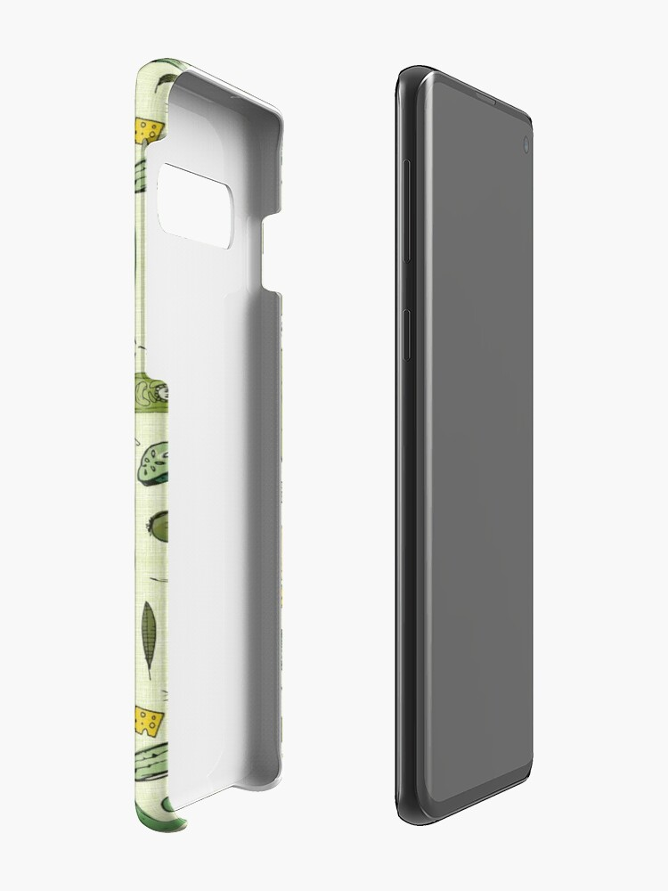 Alternate view of Pickles Case & Skin for Samsung Galaxy