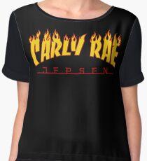 Carly Rae Jepsen Thrasher shirt Chiffon Top
