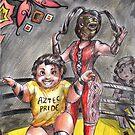 Lucha Underground - The Moth Tribe by Furiarossa
