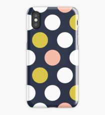 Retro spots iPhone Case/Skin