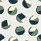 Xmas Balls Pattern #redbubble #decor #xmas by designdn