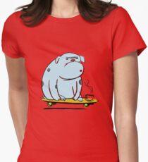 Bulldog Women's Fitted T-Shirt