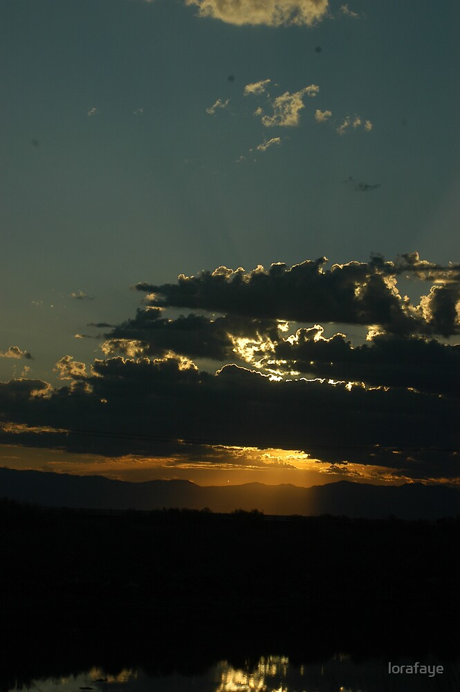 Salt Lake Sunrise by lorafaye