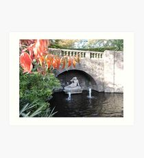 Sabrina (Shrewsbury Quarry Park) Art Print
