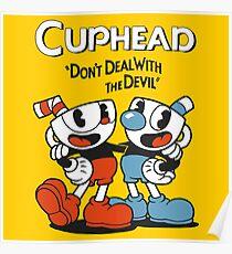 Cuphead Devil Poster