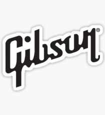 Gibson Guitars Logo Sticker