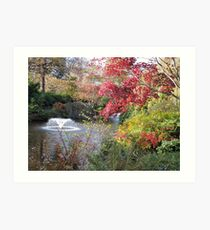 Vibrance (At Quarry Park) Art Print