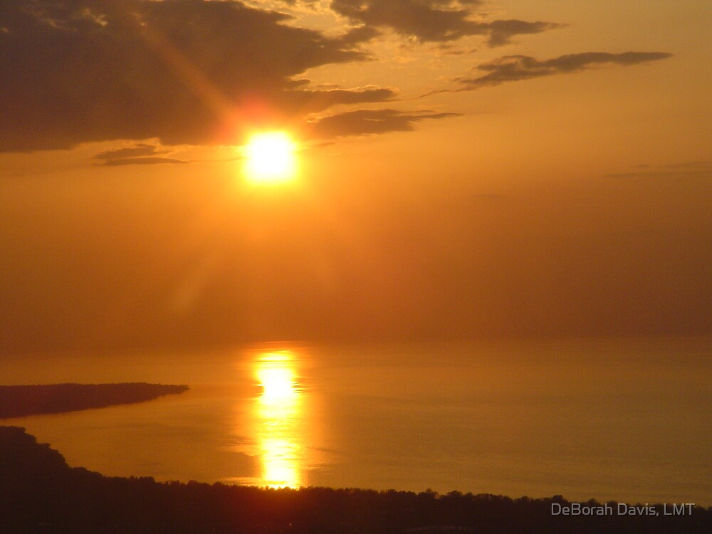 East Coast Sunset by DeBorah Davis, LMT