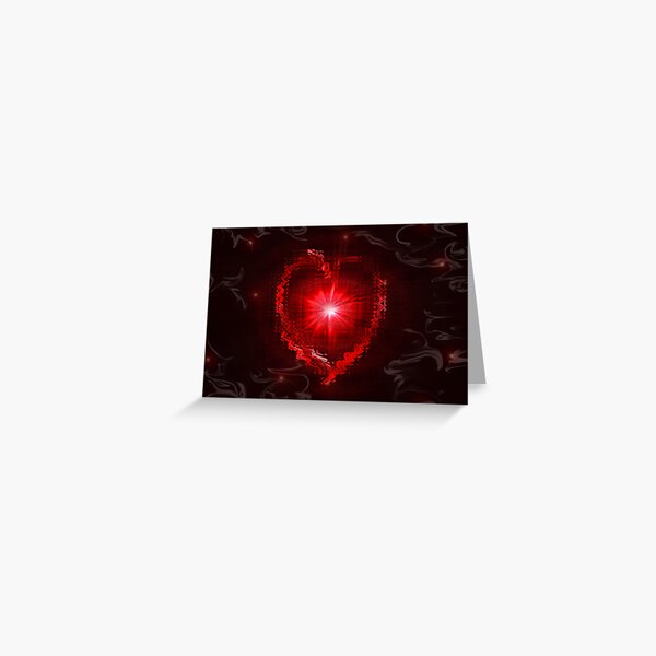 Don't phunk with my heart  Greeting Card