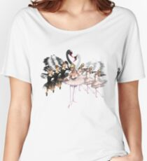 the white swan Women's Relaxed Fit T-Shirt