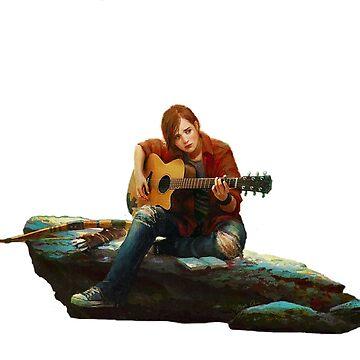 The Last of Us 2 - Ellie by xX0oCaRnAgEo0Xx