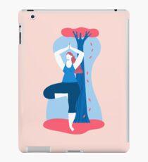 Yoga Girls 4 The Tree Pose Lady iPad Case/Skin