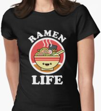 Ramen Life Women's Fitted T-Shirt