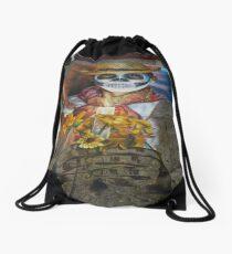 arte y artista  Drawstring Bag