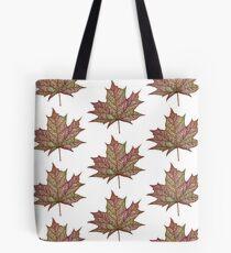 Bubble Tree Leaf Tote Bag