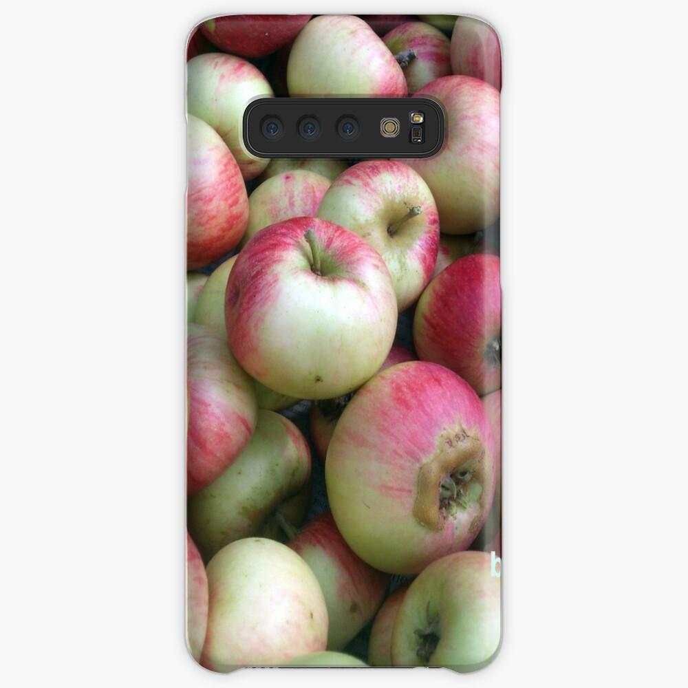 Äpfel - frisch geerntet! Hülle & Klebefolie für Samsung Galaxy