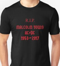 R.I.P. Malcolm Young T-Shirt