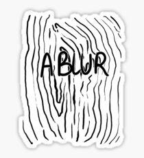 Blurry  Sticker