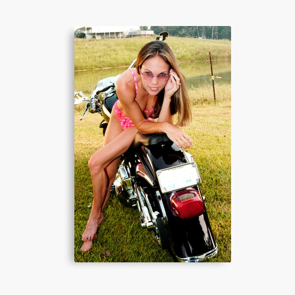 Bikes & Babes Canvas Print