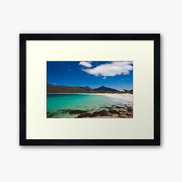 Wine Glass Bay, Freycinet National Park, Tasmania, Australia Framed Art Print