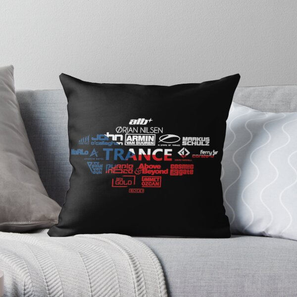 TRANCE - Armin, state of trance, marlo, Throw Pillow