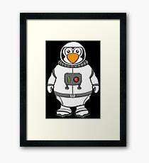 Süsser Pinguin Framed Print