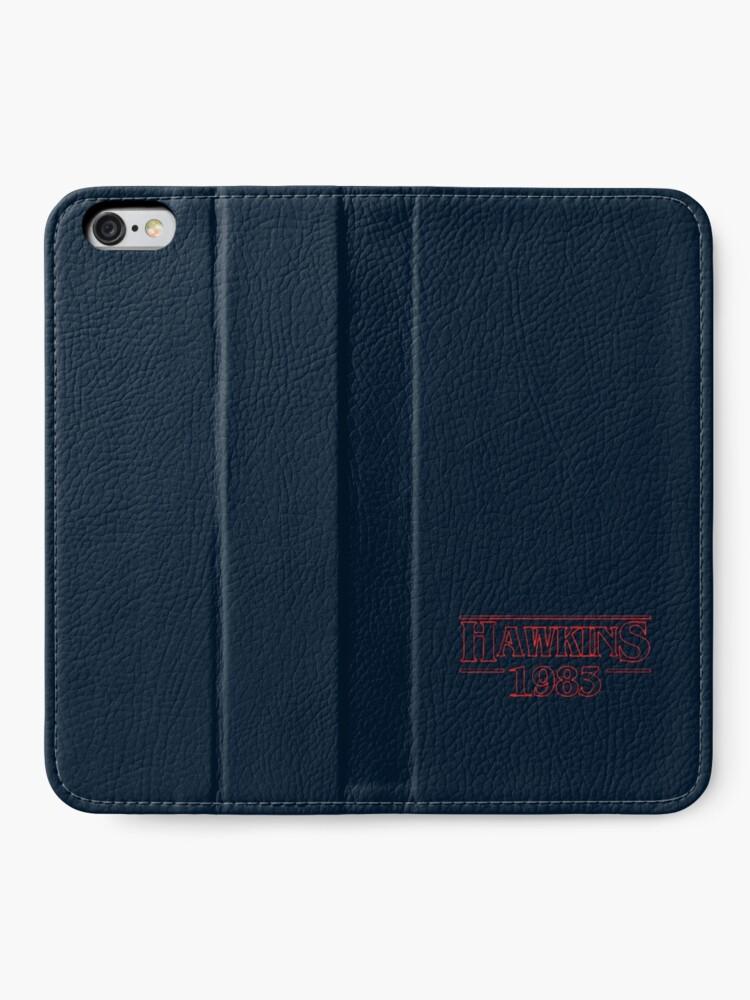 Alternate view of Hawkins 1983 iPhone Wallet
