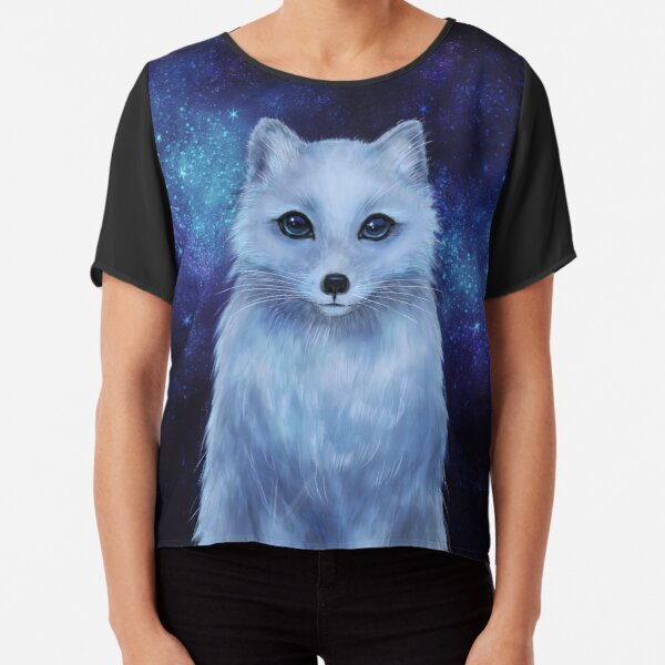Arctic Fox Chiffon Top