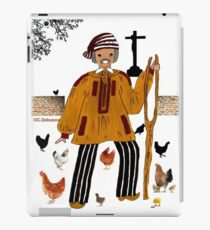 Costume masculin de la BRESSE, France iPad Case/Skin