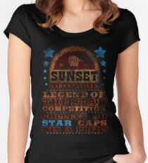 Fallout - Sunset Sarsaparilla Women's Fitted Scoop T-Shirt