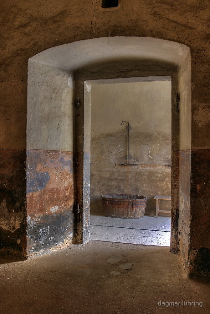 shower at Small Fortress by dagmar luhring