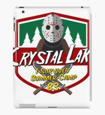 Let's Go Camping! iPad Case/Skin