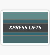 XPRESS LIFTS (Red Dwarf) Sticker